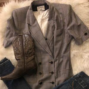 Kasper Vintage Lined Plaid Suit , Trending... 🌸